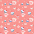 Seamless pattern with cupcakes — Stock Photo #35933869