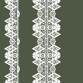 Pattern with lace — Stockfoto