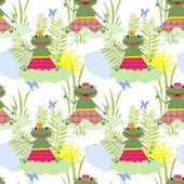 Seamless pattern for kids — Stock Photo