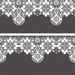 White seamless lace pattern — Stock Photo #36868669