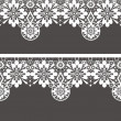 Stock Photo: White seamless lace pattern