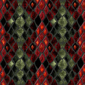 Seamless pattern of snake skin — Stock Photo