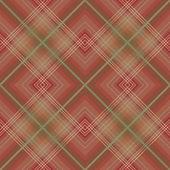 Brown checkered seamless pattern — Stock Photo