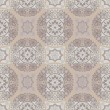 Stock Photo: Beige seamless lace pattern background