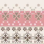 Seamless abstract pattern with geometric elements — Stock Photo