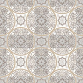 Beige abstract seamless lace pattern — Stock Photo