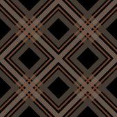 Black checkered seamless pattern repeat — Stock Photo