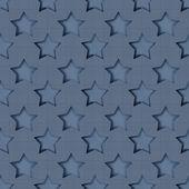Abstract stars geometric retro seamless pattern — Stock Photo