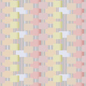 Abstract geometric retro pastel seamless pattern background — Stockfoto