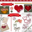 Stock Photo: Scrapbook design elements