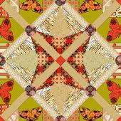 Mozaiki wzór tekstury tło — Zdjęcie stockowe