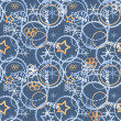 Stock Photo: Olympic games 2014 seamless pattern