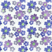 Seamless floral pattern texture on light background — Stock Photo