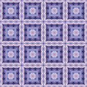 Abstract purple ornament seamless pattern on white — Stok fotoğraf