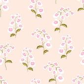 Seamless pattern flowers of nemesia — Stock Vector
