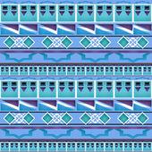 Geometrisches folk abstrakte vintage nahtlose muster — Stockfoto