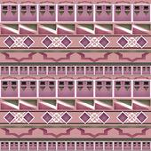 Geometric folk abstract vintage seamless pattern — Stock Photo