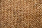 Bamboe weven patroon achtergrond — Stockfoto