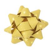 Golden bow — Foto Stock