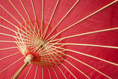Chinese traditional red umbrella — Stockfoto