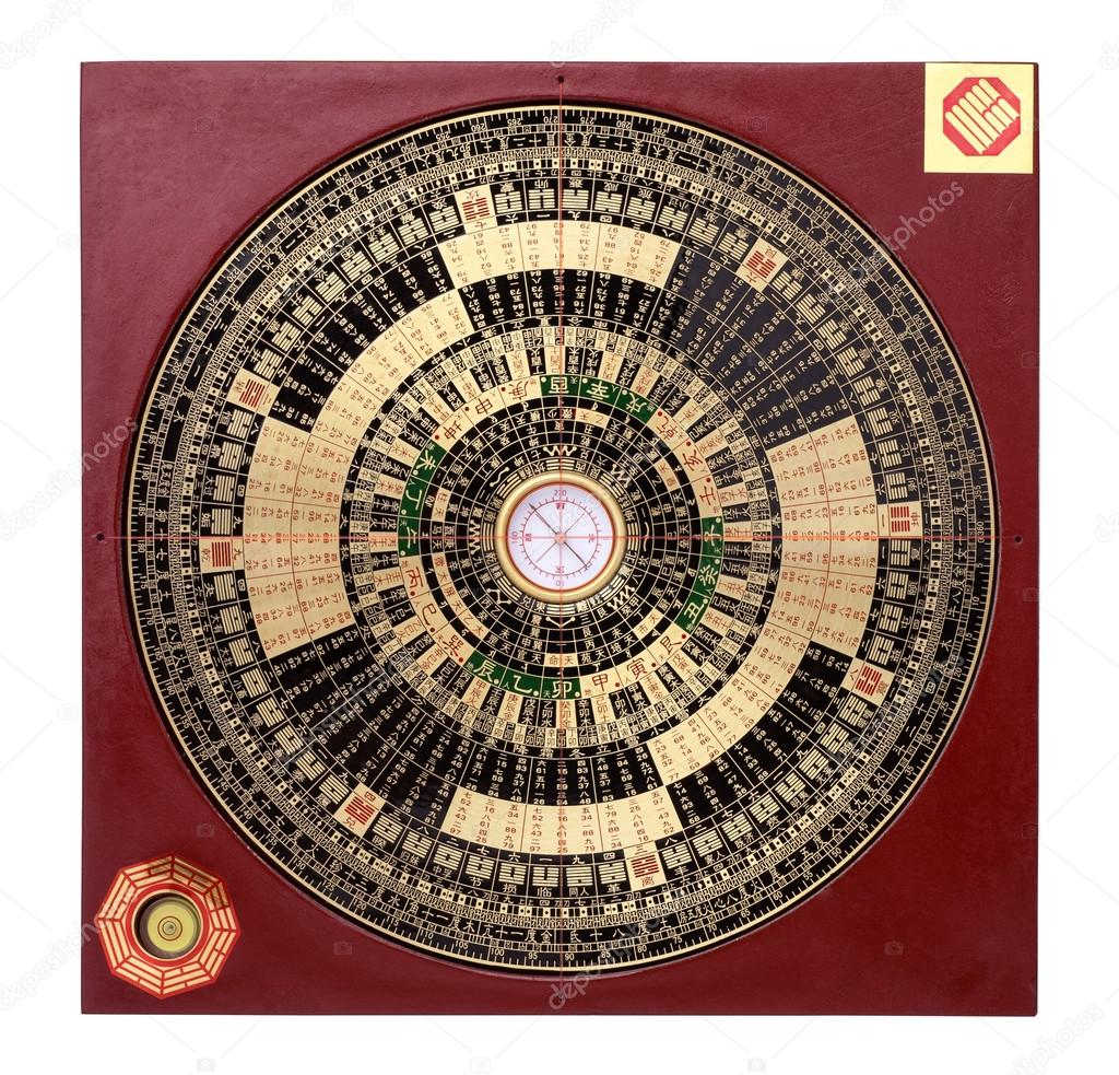 chinese feng shui compass stock image chinese feng shui compass