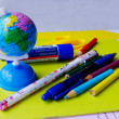 School utensils — Stock Photo