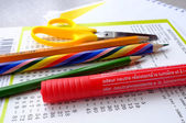 School utensils — Foto de Stock
