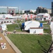 Stock Photo: PERM - JUNE 7: Town of festival White Nights, on June 7, 2012 in