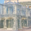 Stock Photo: PERM - FEBRUARY 17: Palace in Ice town, on February 17, 2012 in