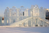 PERM - FEBRUARY 17: Theater in Ice town, on February 17, 2012 in — Stock Photo
