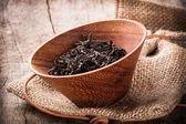 Dried tea leaves — Stock Photo