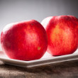 Red apple — Stock Photo #35258179