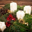 Advent candles — Stock Photo #36127155