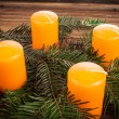 Advent candles — Stock Photo #36127609