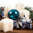 Advent candles — Stock Photo #36128423