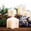 Advent candles — Stock Photo #36214429
