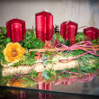 Advent candles — Stock Photo #36586959
