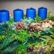 Advent candles — Stock Photo #36587169