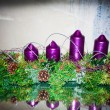 Advent candles — Stock Photo #36587413