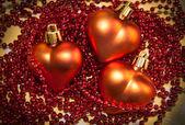 St.valentines hart — Stockfoto