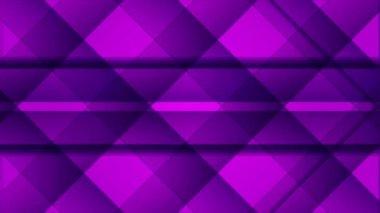 Linha de fundo, roxo de movimento abstrato loop — Vídeo Stock