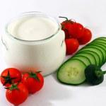 Greek yogurt — Stock Photo #28721411