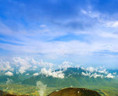 Landscape with mountains — Stock Photo
