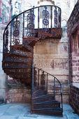 Escada em espiral — Foto Stock