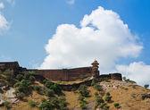 Enormes murallas fortificadas — Foto de Stock