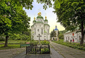 The Church in Vydubitski monastery — Stock Photo