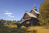 Wooden church — Stockfoto
