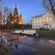 November in Peterhof — Stock Photo