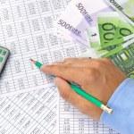 Calculation money — Stock Photo #51649867