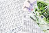 Calculation money — Stock Photo